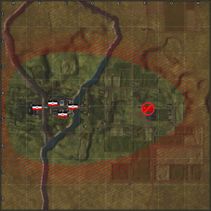 4407-Narva Bridgehead map