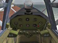 J2F-2 Duck cockpit