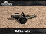 6 inch 26cwt Howitzer render
