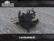 Flakvierling 38 render