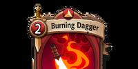 Burning Dagger