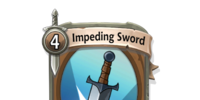 Impeding Sword