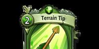Terrain Tip
