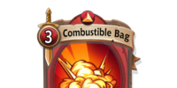 Combustible Bag