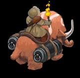 MammothRaider back