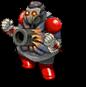 S trooper zombie cannon d front