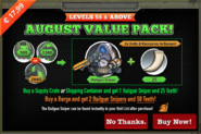 August Value Pack