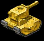 GoldHeavyTank back