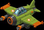 Event reward jet fighter