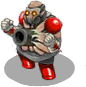 S trooper zombie cannon front
