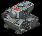 Veh tank basilisk front