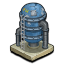 Deco watertower icon~ipad