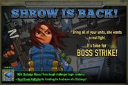 Boss Strike 13 Shrow
