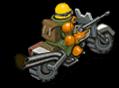 Scoutbike green back
