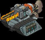 I17 veh tank railgun front