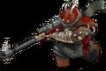 S raider sniper 55 front