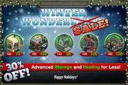 Winter Sale 2014