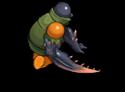 S trooper zombie ninja d back