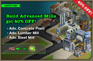 Advanced Mills Sale August 2013