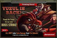 Boss Strike 14 Yuzul