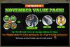 November Value Pack 9-19