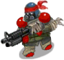 S commando rebel front