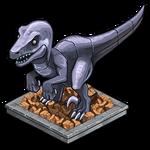 Deco raptor statue icon~ipad