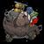 S mortar turtleShell icon