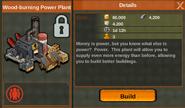 Woodburningpowerplant