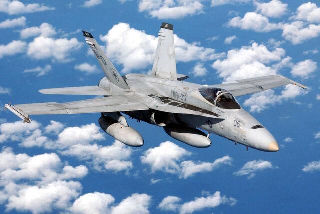 File:USMC FA-18 Hornet.jpeg