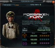 Forsaken Fury Event Details