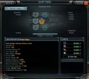 Destroyer ECM Shipyard