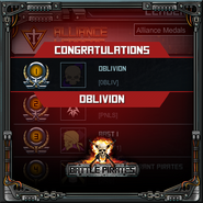 Oblivion - alliance medals