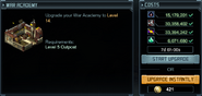 Level 14 war academy