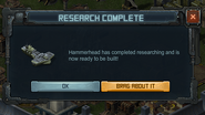 Research Complete - Hammerhead