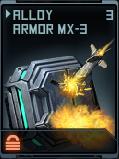 Alloy Armor MX-3