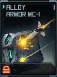 Alloy Armor MC-1