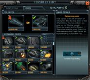 Forsaken Fury Event Prizes
