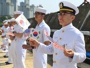ROK Navy Sailors