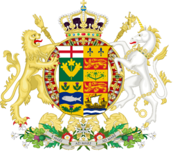 Coat of Arms Kingdom of Canada