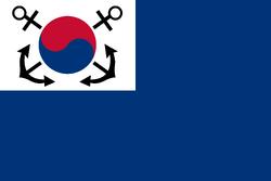 Republic of Korea Navy Flag 1