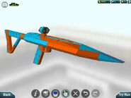 Yevata battle rifle