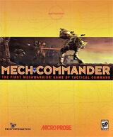 MechCommander Coverart