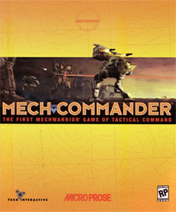 MechCommander Coverart