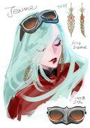 Concept Art - New Jeanne