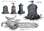 Tombstone & chainsaw
