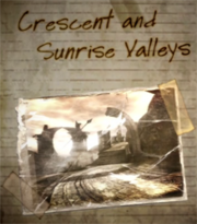 Crescent and Sunrise Valleys