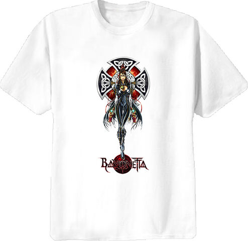 File:White Bayonetta T-Shirt.jpg