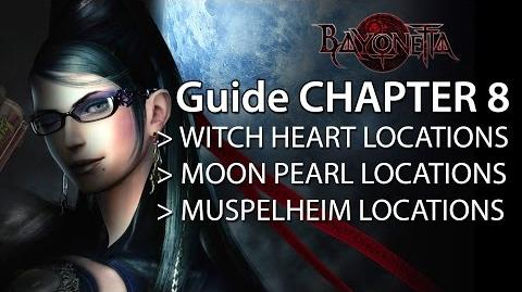 Bayonetta 2 Guide Chapter 8 - Witch Heart Moon Pearl Muspelheim Locations