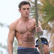 Zac Efron onset
